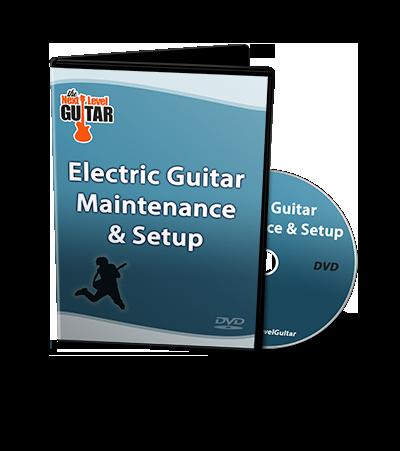 electric guitar maintenance setup dvd. Black Bedroom Furniture Sets. Home Design Ideas